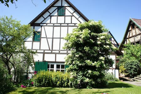 WOHLFÜHL-FERIENWOHNUNG MIT GARTEN - Kirchberg an der Murr - Loft-asunto