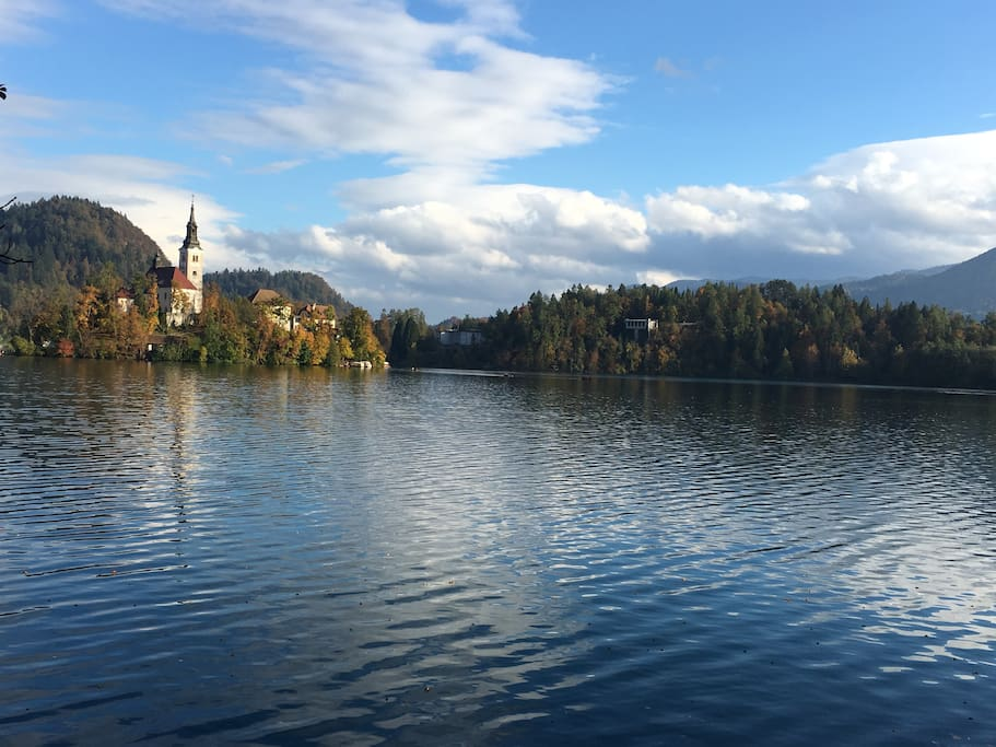 Lake Bled summer time