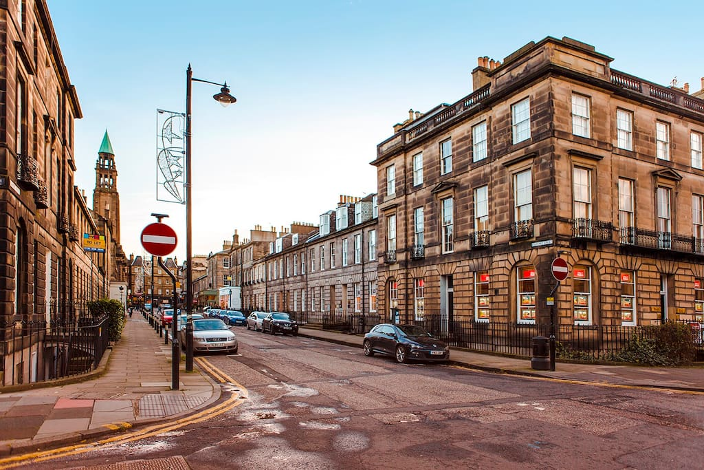 Situated in the sought-after West End
