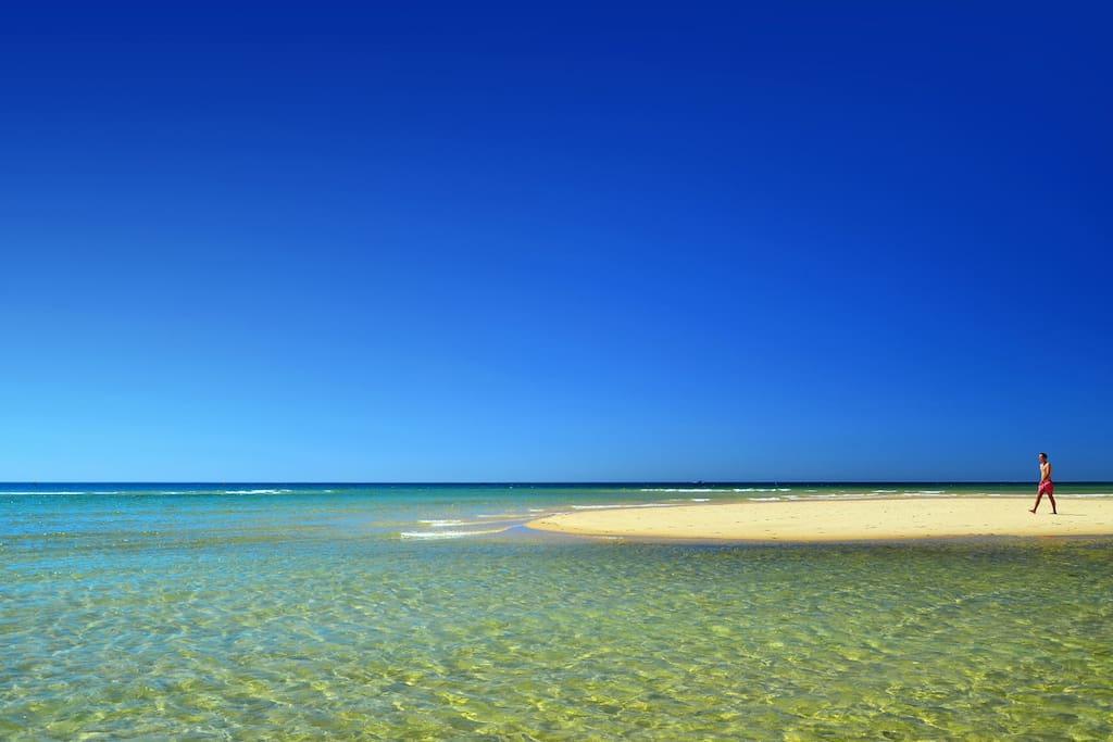 Ilha Tavira Beaches