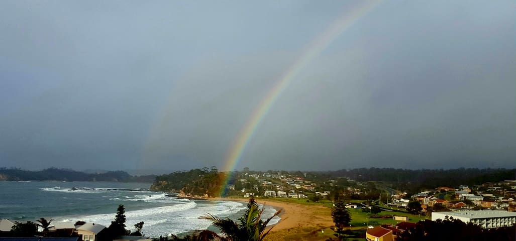 Malua Bay is your pot of gold at the end of the Rainbow. Come along and feel happy, relaxed, joyful and healthy again! We look forward to seeing you soon. We re open August 1 2020.