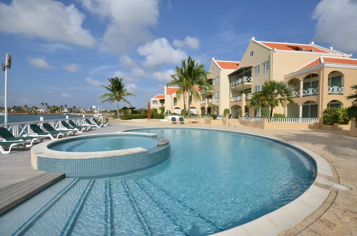 Port Bonaire A701 - Lovely Oceanfront Condo