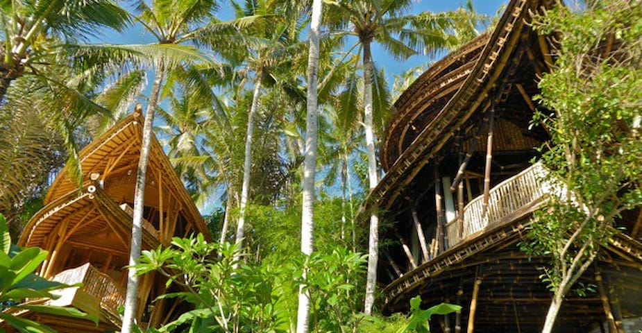 Exotic, Peaceful, Bamboo Paradise - Abiansemal - House