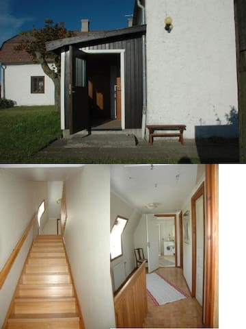 Apartment in big house in Gotland