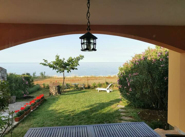 Beach House near Umag with an Amazing View