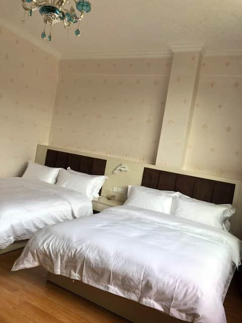 精品家庭双大床房