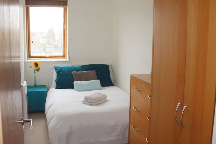 *FEMALE only* Bright double room in a family flat