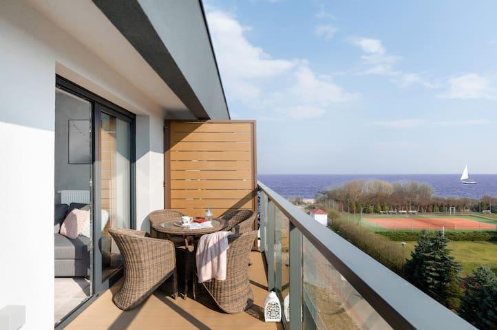 Apartament Słoneczny Gardenia Seaside 1 Dziwnów