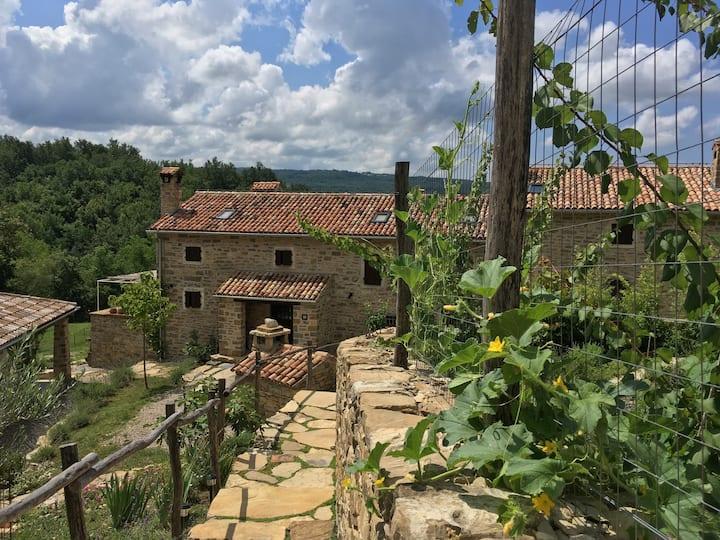 "Bolara 60 rural guesthouse- double room ""Nocciole"""