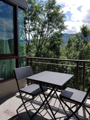 *Luxury Mountain View, Private room, 1 BR, 1 Bath*