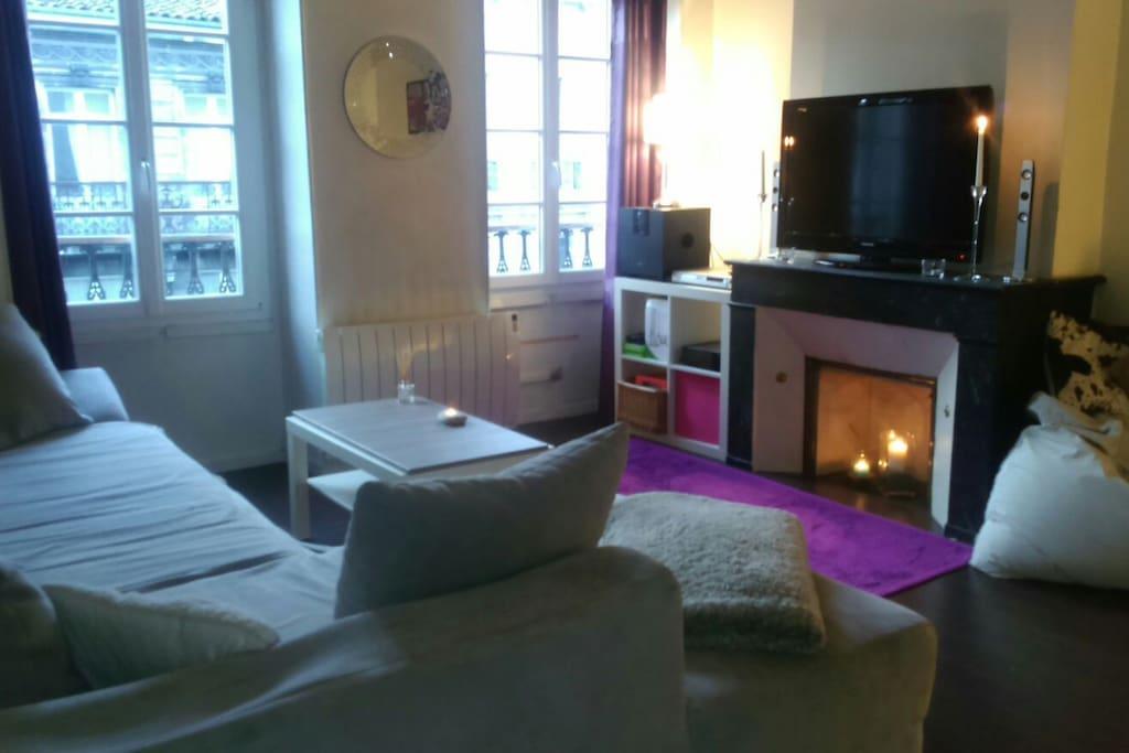 Canap lit chez l 39 habitant appartements louer bordeaux - Chambre chez habitant bordeaux ...