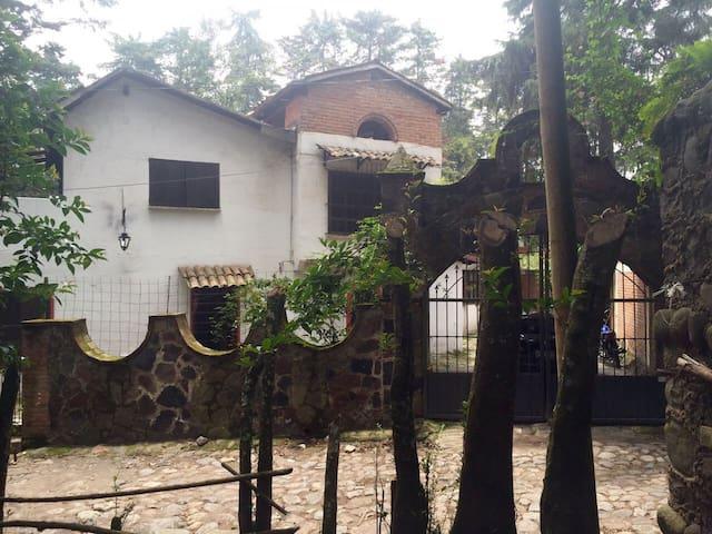 Casa/Cabaña Completa en Popo Park - Atlautla - Cabane