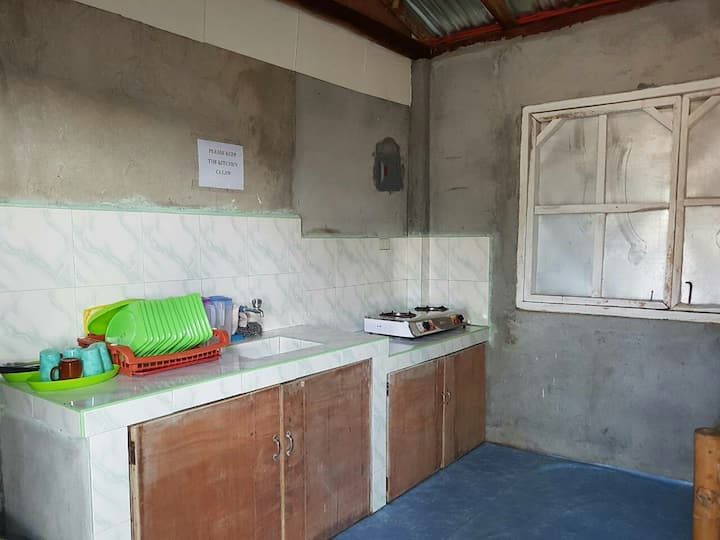 Aircon/Kitchen Guest House
