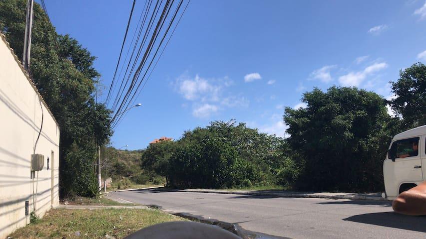 Rua da casa frente