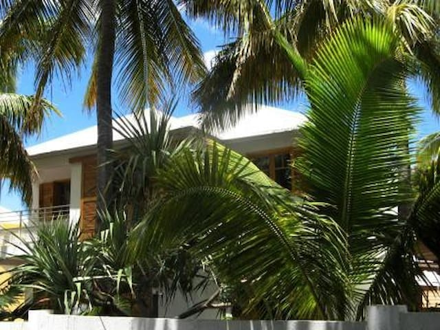 La Saline les bains, bungalow dans jardin tropical