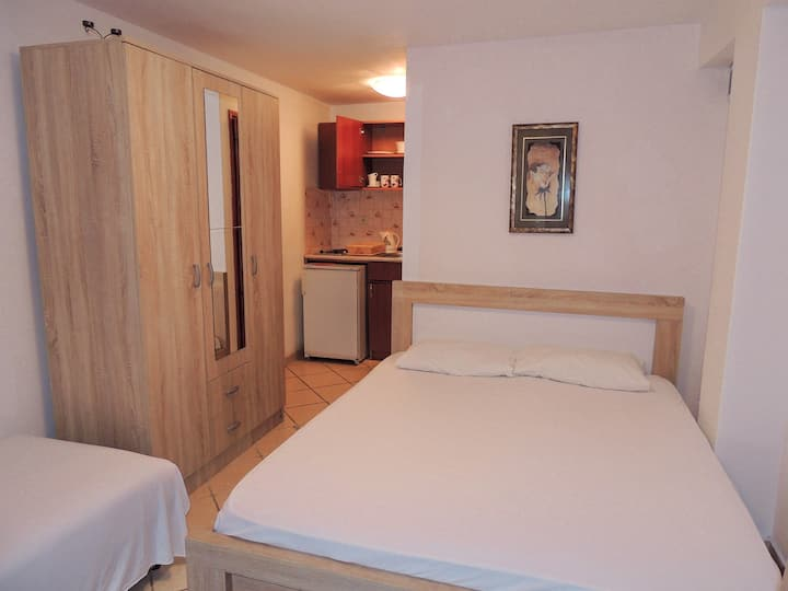 Comfort triple room with the terrace