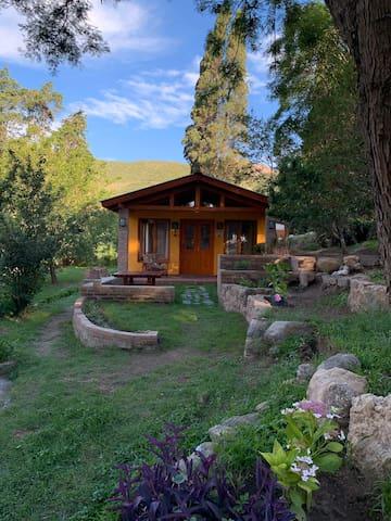 """""""La Gringa""""... casa serrana en inigualable bosque!"""