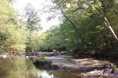 Wooded waterfront near LU, LC, RC & Sweet Briar - Madison Heights - Byt