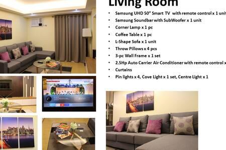 Brand New Condo For Rent - Ciutat Quezon - Apartament