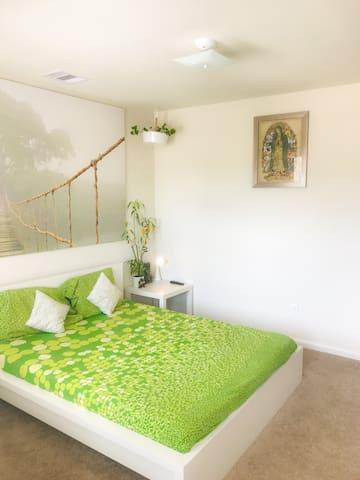 Peaceful & Beautiful Garden Bedroom