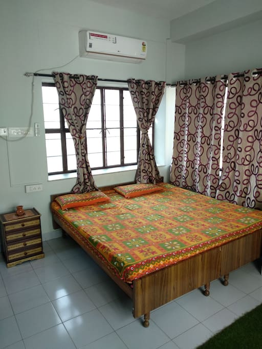 bedroom with ample light