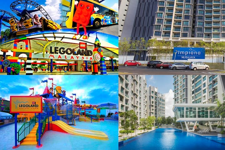 Marvelous 3 rooms Near to Legoland