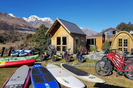 Tiny house - adventure equipment included