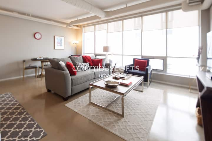 Modern Condo w/Garage—Arena District / Downtown