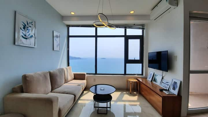 2 br sea view for rent in Muong Thanh Oceanus