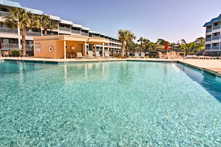 Clean Tybee Island Condo - 100 Yards from Beach!