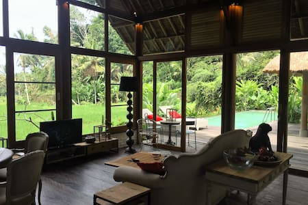 Luxurious villa, rice-fields, Heaven - Ubud - Villa