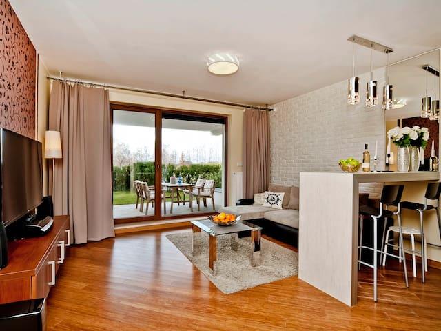 Comfy apartment witha a garden A3