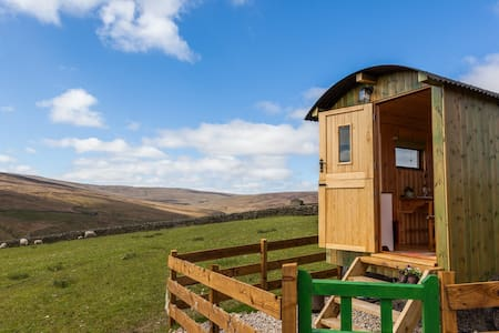 Pry House Farm Hut-in-the-Hills Shepherd's Hut