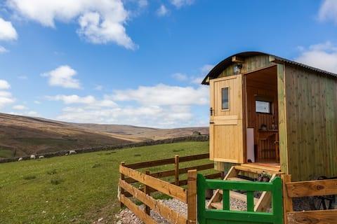 Pry House Farm Hut-in-the-Hills Shepherd's Hut