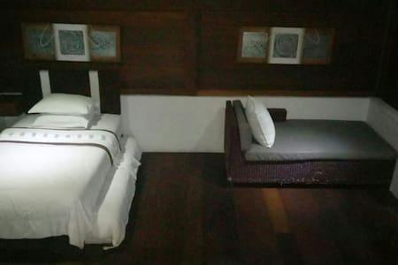 Tropica Shipwreck -  Reef Room (fan room) - Nusapenida