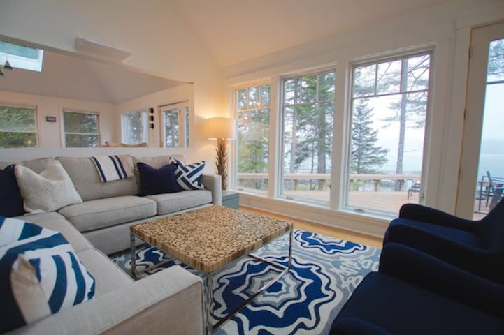 Beautiful Oceanfront House for 12 - West Bath - Σπίτι