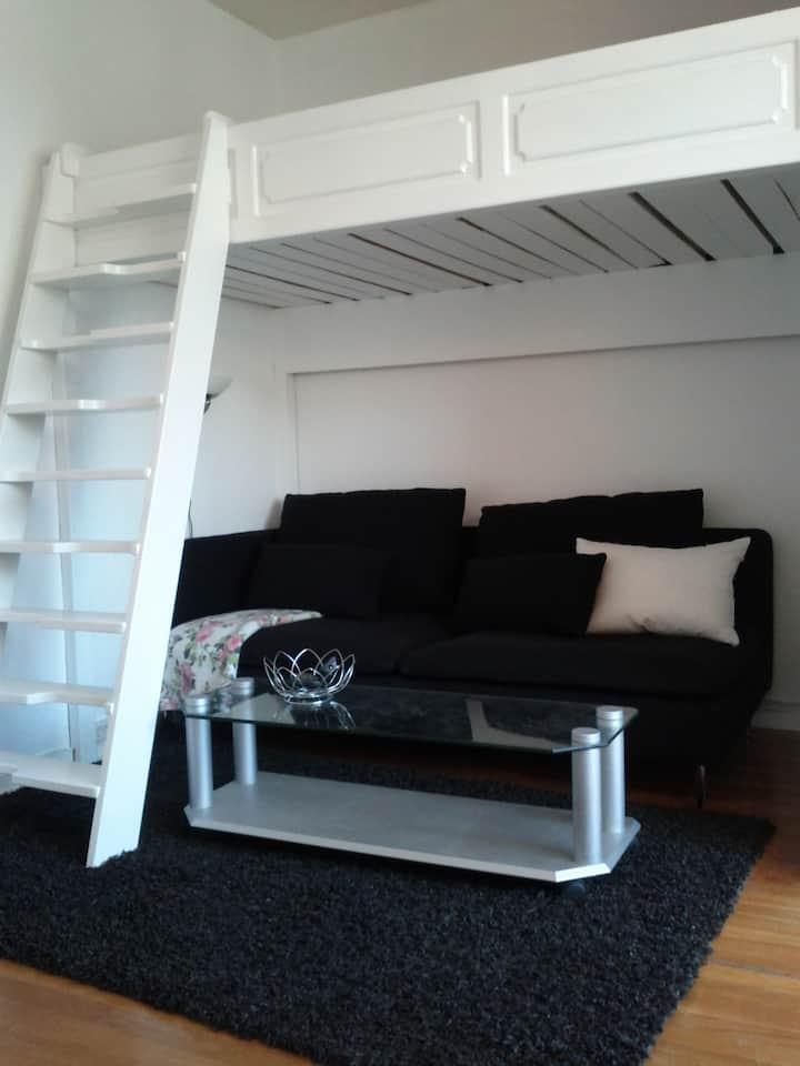 Centrally located studio apartment