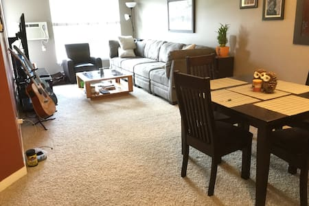 Private room and bathroom in clean, quiet home! - Condominium