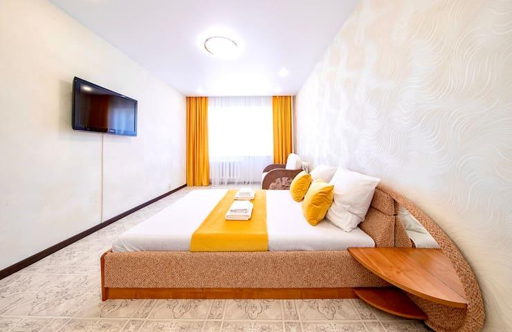 Общий вид комнаты в квартире.