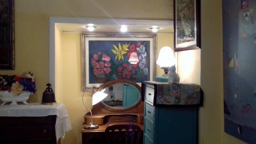 Dormitorio Paseo castellana Santiago Bernabeu