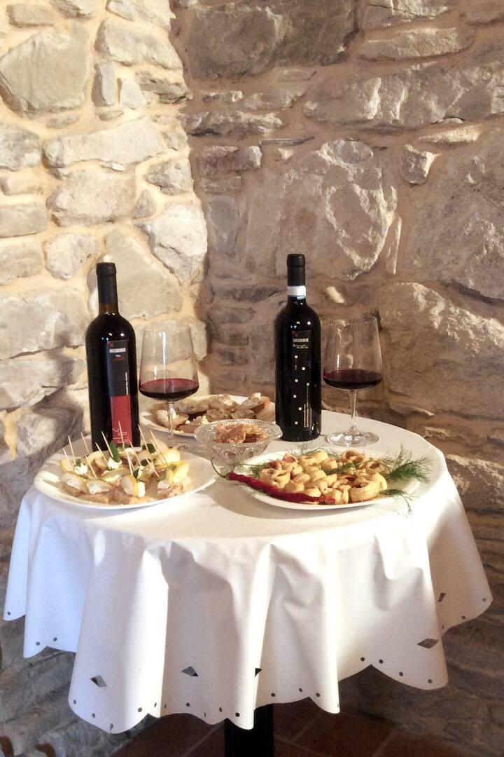 degustazione vegan wine merenda sinoira
