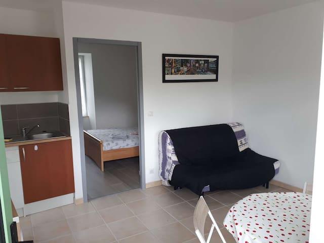 Cahors : appartement avec vue.