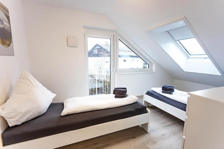 BÜS08 Modern apartment with balcony in Büsingen with balcony