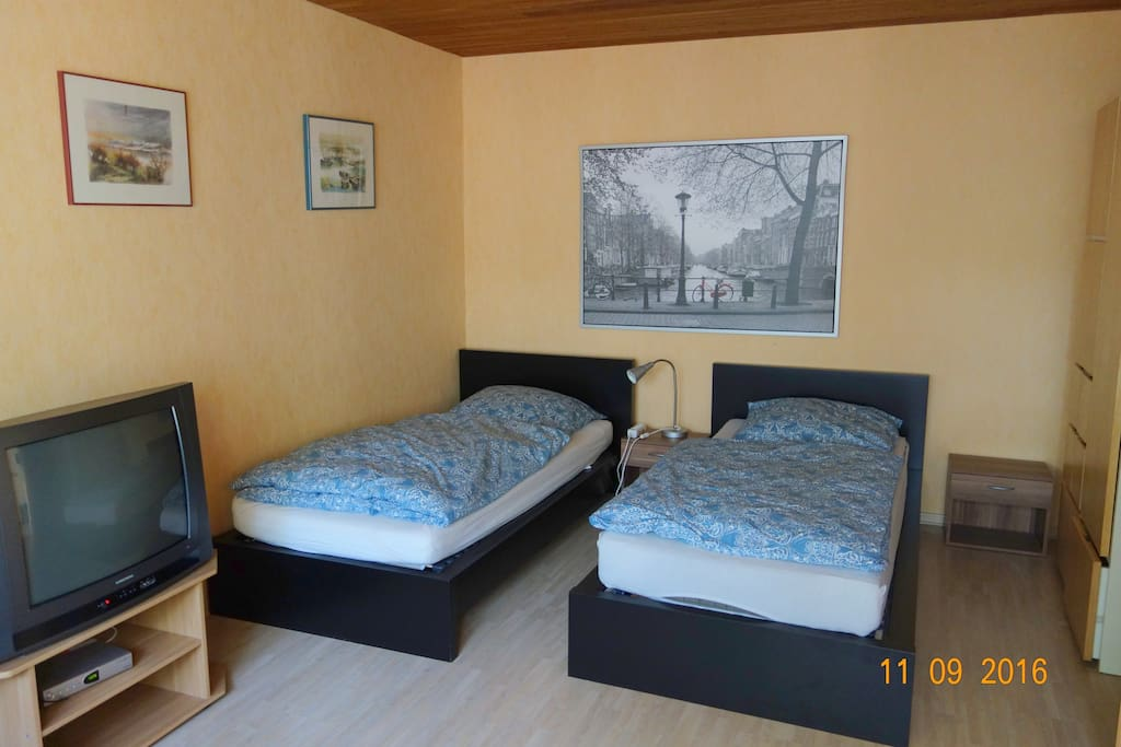 Zimme 1 mit getrennten Betten