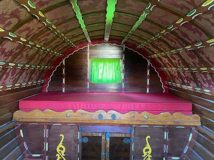 Romany wagon authentic from UK sleeps 2