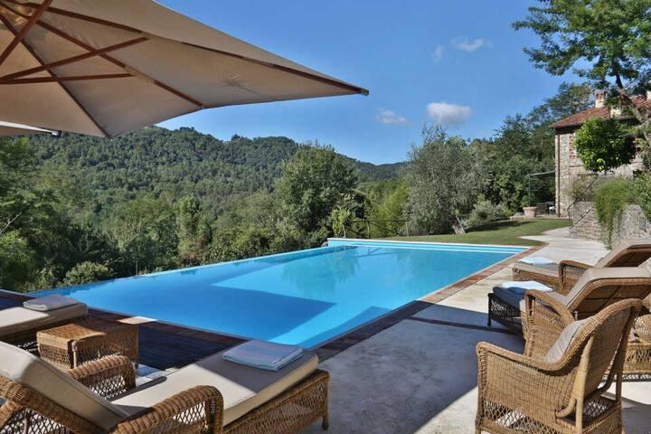 Angeloni - Elegant and sylish airconditioned Villa - Lucca - Villa