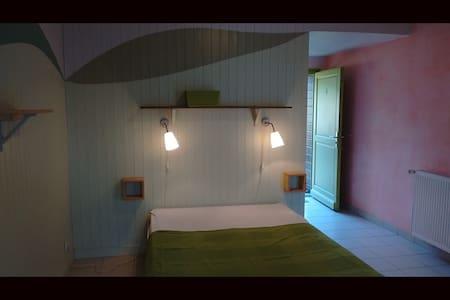 Mettez pied à terre à Audierne (chambre/sdb/cuis) - Audierne - Natur-Lodge