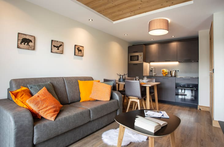 Feel at home in our charming and comfortable mountain apartment!