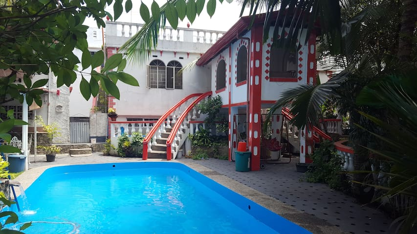 Private Villa in Aplaya with Swimming Pool
