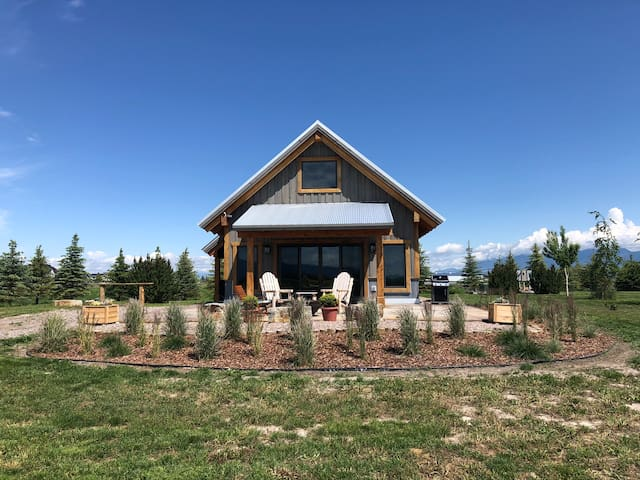 Renovated Luxury  Barn bordering on Flathead Lake